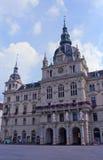 Stadhuis in Graz stock afbeeldingen