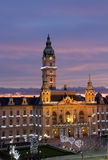 Stadhuis, Gyor, Hongarije royalty-vrije stock afbeeldingen