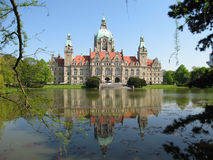 Stadhuis Hanover Royalty-vrije Stock Foto's