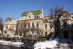 Stadhuis in Iasi (Roemenië) Stock Afbeeldingen