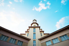 Stadhuis ivano-Frankivsk Royalty-vrije Stock Afbeeldingen