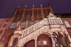 Stadhuis in Lübeck Royalty-vrije Stock Afbeelding