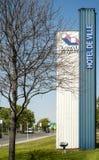 Stadhuis (Laval) Stock Afbeeldingen