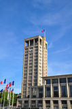 Stadhuis in Le Havre, Frankrijk royalty-vrije stock foto's