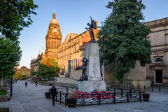 Stadhuis Leeds royalty-vrije stock afbeeldingen