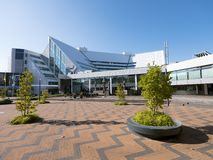 Stadhuis in lelystadkapitaal van Nederlandse provincie Flevoland royalty-vrije stock foto
