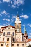 Stadhuis in Lobau Stock Afbeeldingen