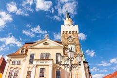Stadhuis in Lobau Royalty-vrije Stock Fotografie
