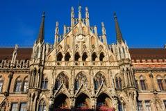 Stadhuis München stock afbeeldingen