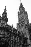 Stadhuis in München Stock Afbeelding