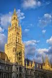 Stadhuis München Stock Foto's