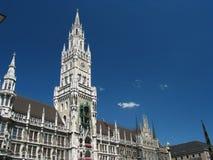 Stadhuis in München, Duitsland stock afbeelding