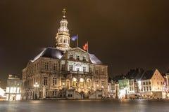 Stadhuis in Maastricht stock afbeeldingen