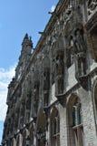 Stadhuis Middelburg - gammalt stadshus i Nederländerna Royaltyfria Bilder