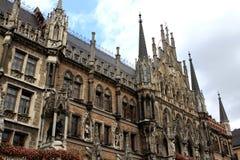 Stadhuis, München Stock Fotografie