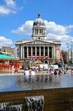 Stadhuis, Nottingham Stock Foto's