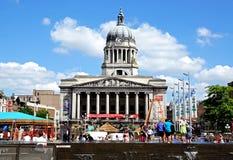 Stadhuis, Nottingham Royalty-vrije Stock Afbeeldingen