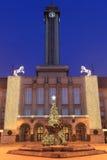 Stadhuis in Ostrava Stock Afbeeldingen