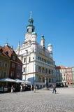 Stadhuis poznan Stock Afbeelding