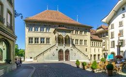 Stadhuis - Rathaus van Bern Royalty-vrije Stock Foto