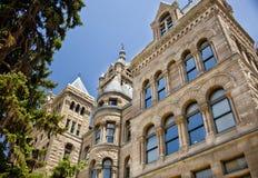 Stadhuis in Salt Lake City Utah Stock Foto's
