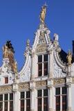 Stadhuis samochód dostawczy Brugge, Bruges, Belgia - Obraz Royalty Free