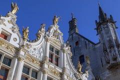 Stadhuis skåpbil Brugge - Bruges - Belgien Royaltyfri Fotografi