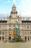Stadhuis (stadshus), Antwerpen Royaltyfri Foto