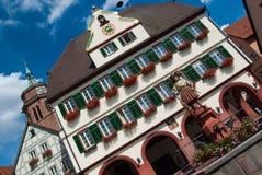 Stadhuis Stuttgart - Weil der Stadt Stock Afbeelding