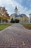 Stadhuis in Szeged, Hongarije. royalty-vrije stock afbeeldingen