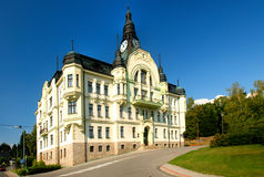 Stadhuis in Tanvald Royalty-vrije Stock Foto
