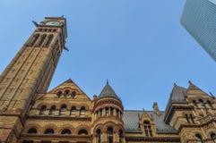 Stadhuis Toronto van de binnenstad Stock Afbeelding