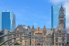 Stadhuis Toronto van de binnenstad Stock Afbeeldingen