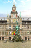 Stadhuis (urząd miasta), Antwerpen Zdjęcie Royalty Free