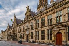 Stadhuis urząd miasta, Leiden, holandie Zdjęcie Royalty Free