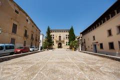 Stadhuis van Arta, Mallorca stock foto