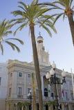 Stadhuis van Cadiz. Royalty-vrije Stock Foto's