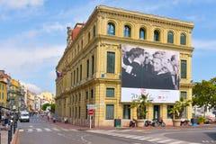 Stadhuis van Cannes, Frankrijk stock fotografie