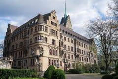 Stadhuis van Duisburg in Duitsland Stock Fotografie