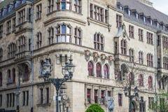 Stadhuis van Duisburg in Duitsland Stock Afbeeldingen