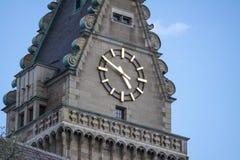 Stadhuis van Duisburg in Duitsland Royalty-vrije Stock Afbeeldingen