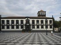 Stadhuis van Funchal, Madera Royalty-vrije Stock Afbeelding