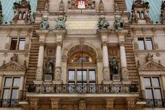 Stadhuis van Hamburg Royalty-vrije Stock Foto