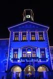 Stadhuis van Ljubljana Royalty-vrije Stock Foto's