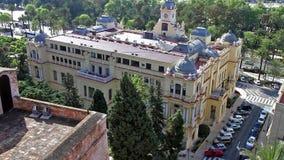 Stadhuis van Malaga stock video