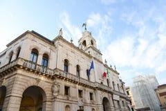 Stadhuis van Padua - Italië Stock Foto's