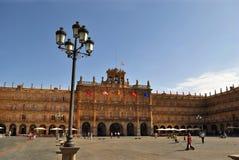 Stadhuis van Salamanca Royalty-vrije Stock Foto's