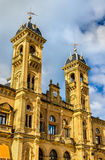Stadhuis van San Sebastian - Donostia, Spanje Stock Foto's