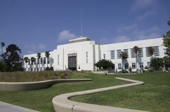 Stadhuis van Santa Monica California Royalty-vrije Stock Afbeeldingen