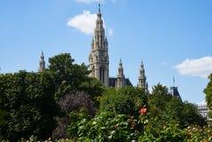 Stadhuis van Wenen royalty-vrije stock foto